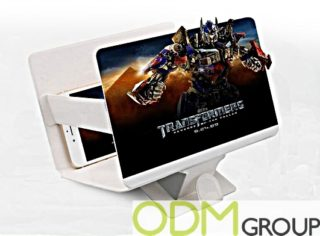 Custom Smartphone Gadget: Screen Magnifier