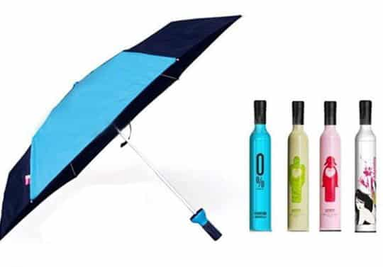 Wine Marketing - Bottle Shaped Custom Umbrella4