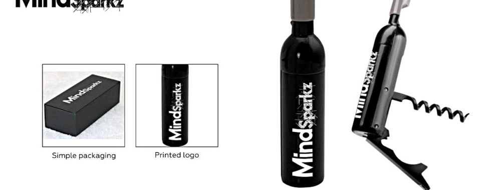 Wine Promotions: Bottle Shaped Corkscrew