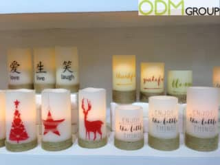 Winter Promo- Branded LED Candles