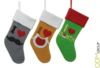 Christmas promotional items - Custom Felt Decorations
