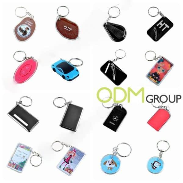 Custom Shaped RFID/NFC Key Tag