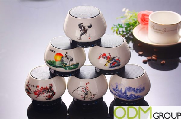 Chinese New Year Promo - Custom Ceramic Speaker