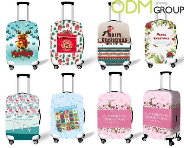 Christmas Promo Item - Custom Suitcase Cover