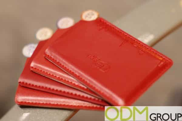 Corporate Promotions: Branded Card Holder