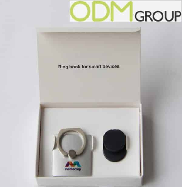 Marketing Gift by Mediacorp: Promotional Ring Hook