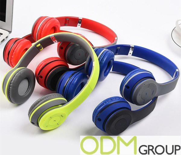 New Promo Idea: Branded Bluetooth Headphones