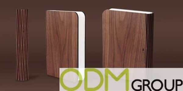 New Promo Idea: Custom Lamp in Book Design