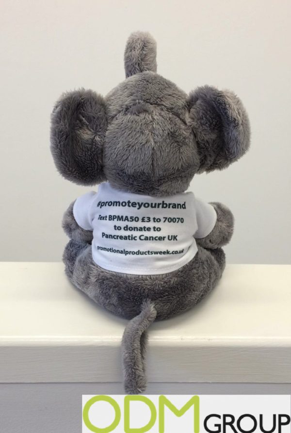 Promotional Products Week #ppweek with plush mascot