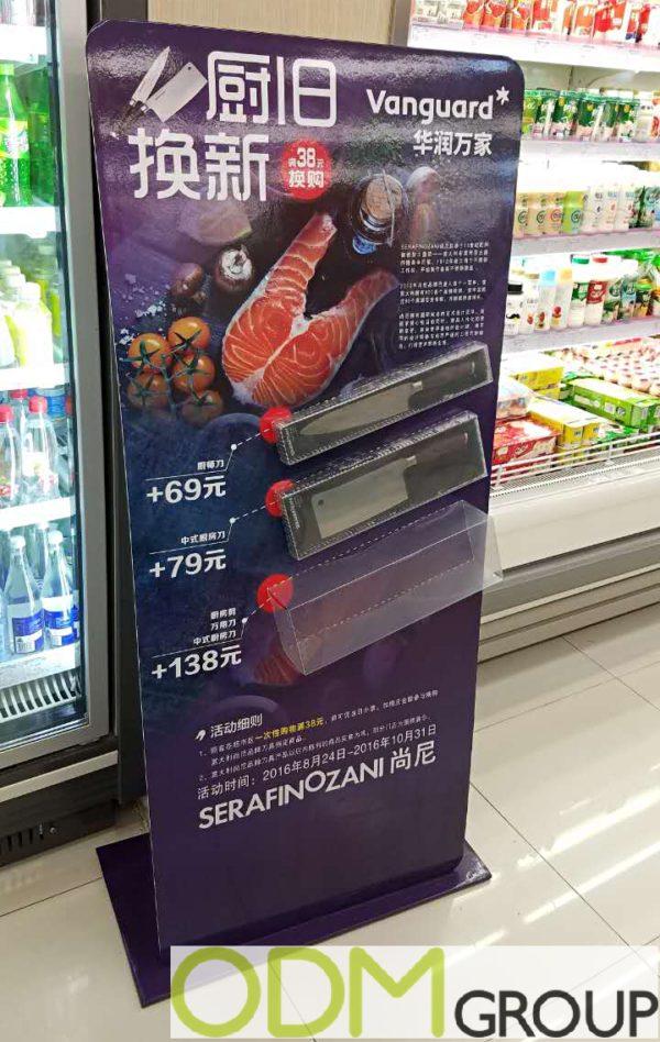 Serofinozani Knives as Purchase with Purchase