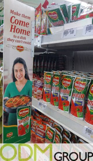 Instore Marketing : POS Displays offering Del Monte Products