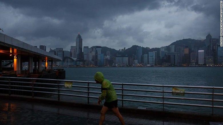 Typhoon Closes HK Megashow