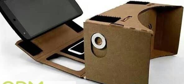 Cardboard Promo Item Virtual Reality Glasses