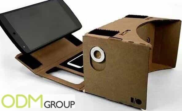 Cardboard Promo Item Virtual Reality Glasses