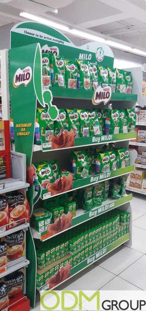 Branded Advertisements: Big Marketing Campaign by Nestlé