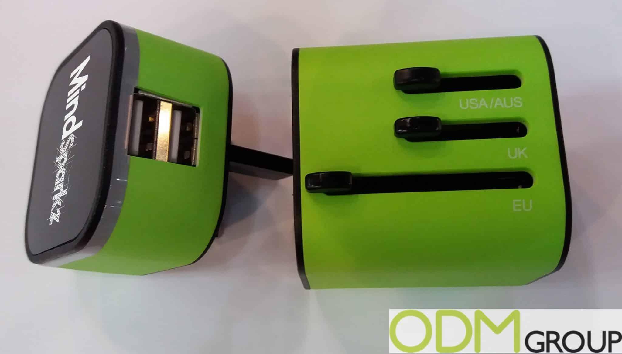 Creative Promo Idea - Luminous Universal Travel Adaptor