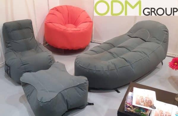 Custom Inflateable Seatings at HK Mega Show