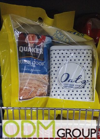 Gift with purchase by Quaker - Free box