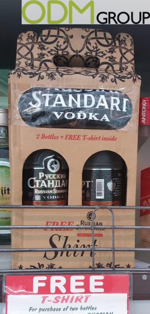 Drinks Promotion by Russian Standard and Fundador