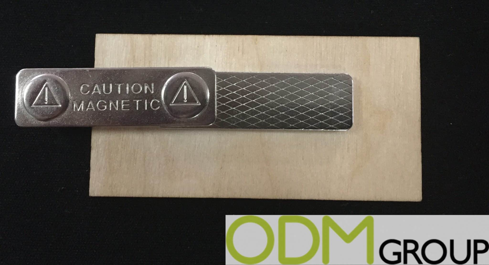 Unique Branded Wooden Badge offered by Mopub