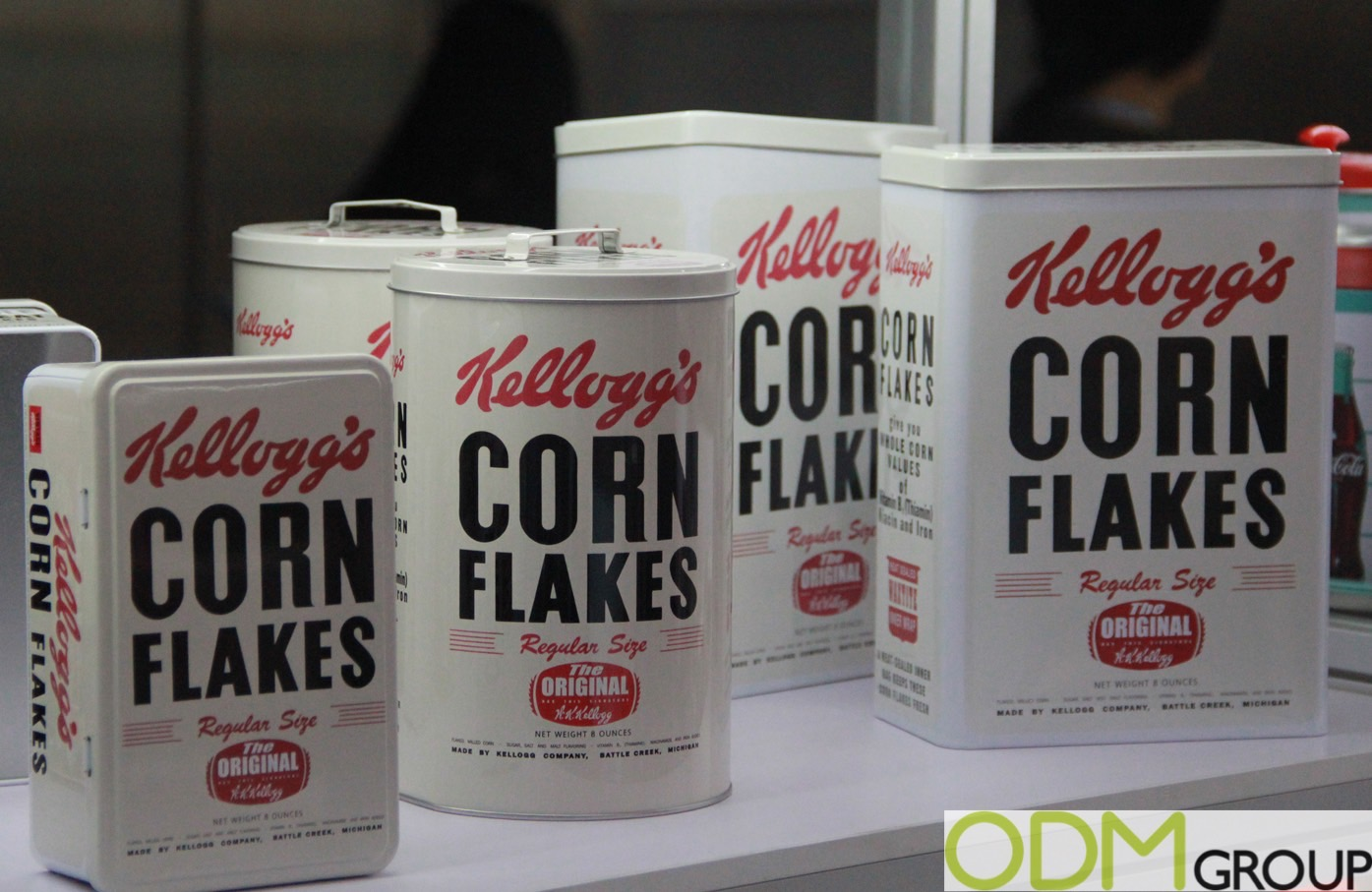 Vintage Promo - Cereal Tins for Kitchen Storage