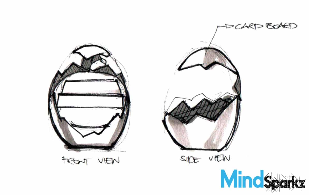 Chinese New Year POS - Creative Egg-Shaped Display