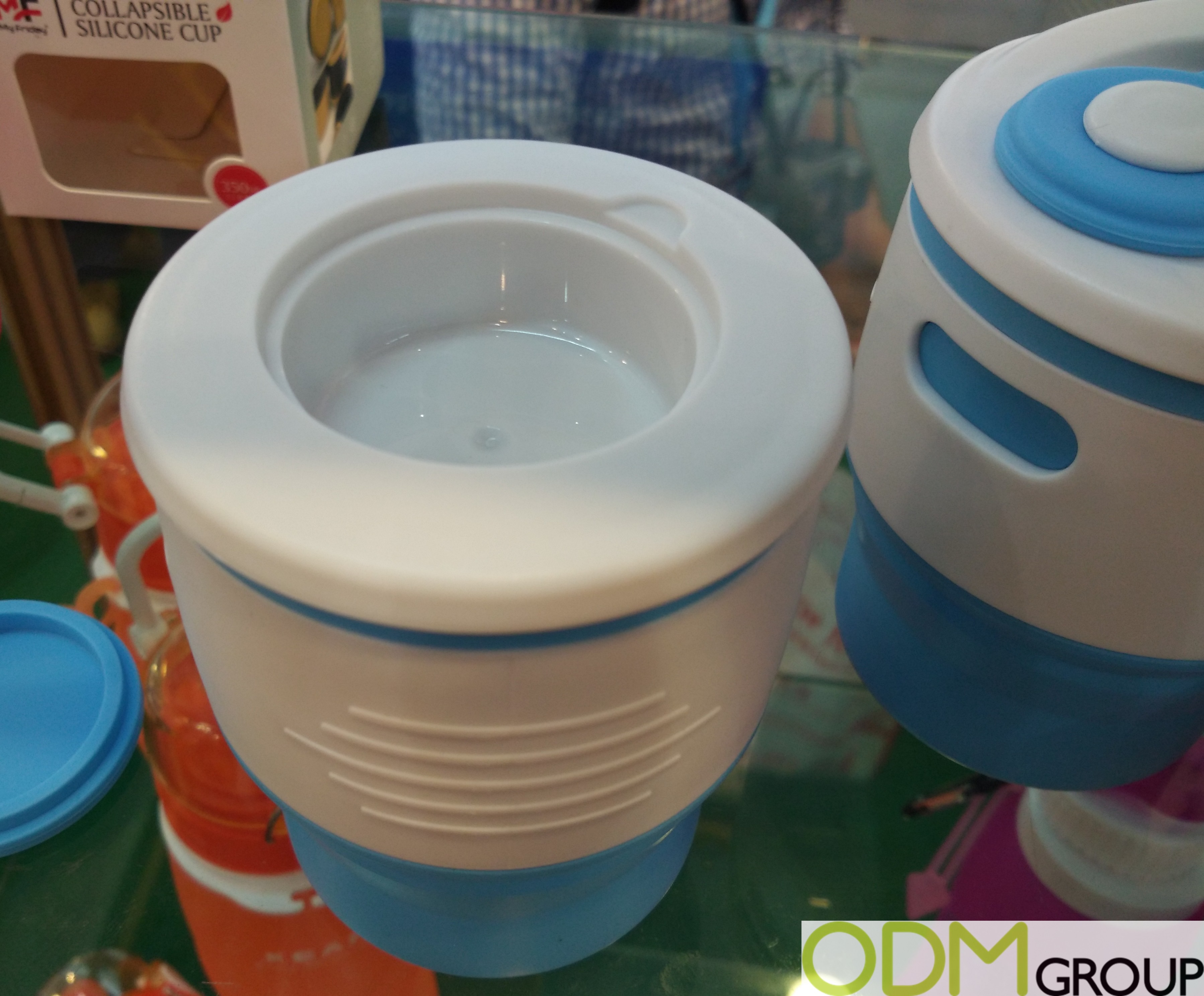 New Design for Silicone Collapsible Coffee Cups