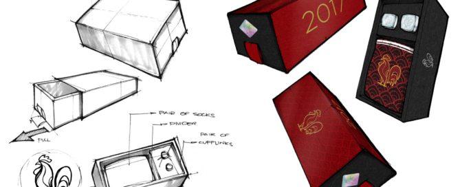 Chinese New Year Promo - Custom Cufflinks and Socks