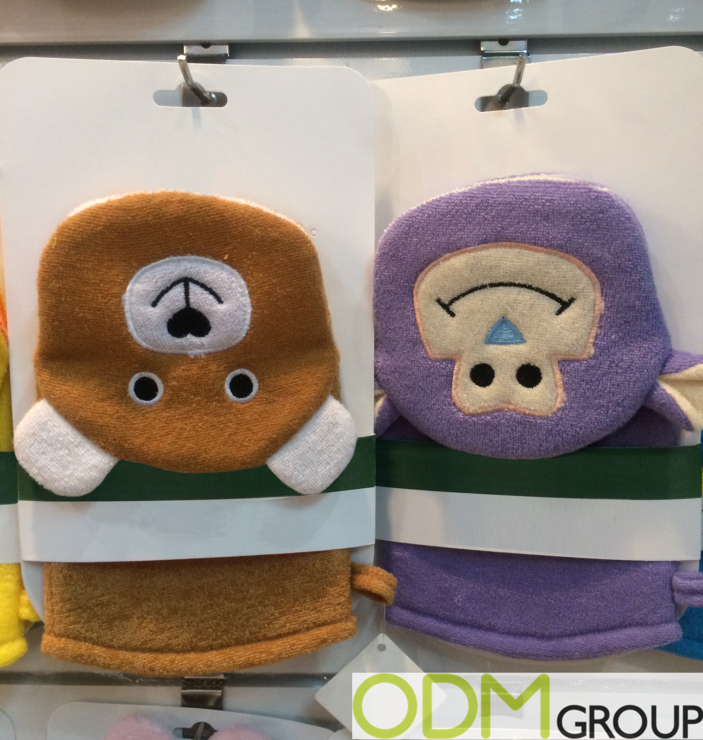 Promotional Items For Babies - Custom Shape Shower Puppets