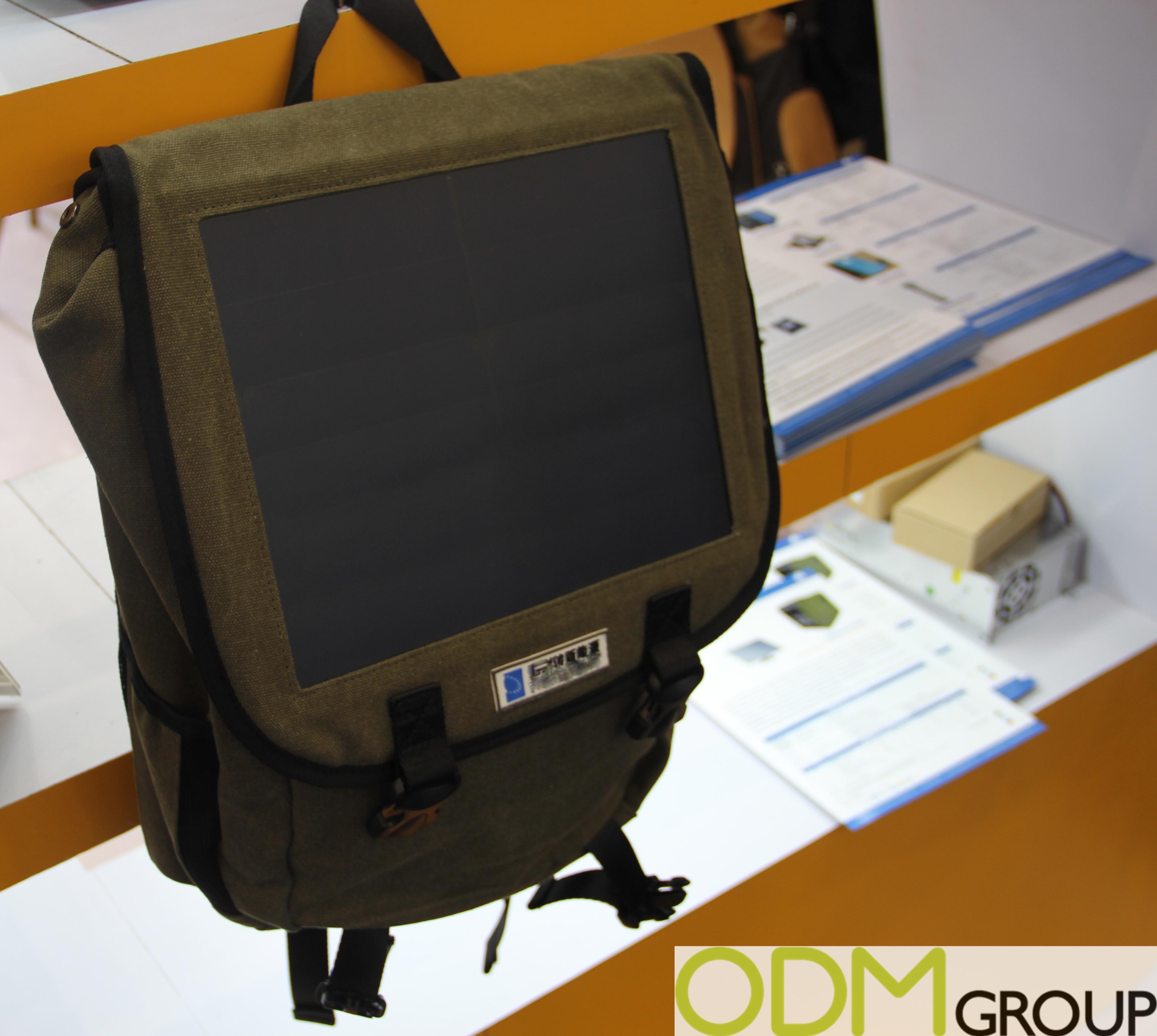 Promotional Idea - Original Solar Backpacks