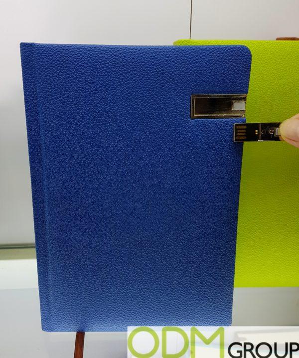 Unique Promo Item - Notebook with USB Stick