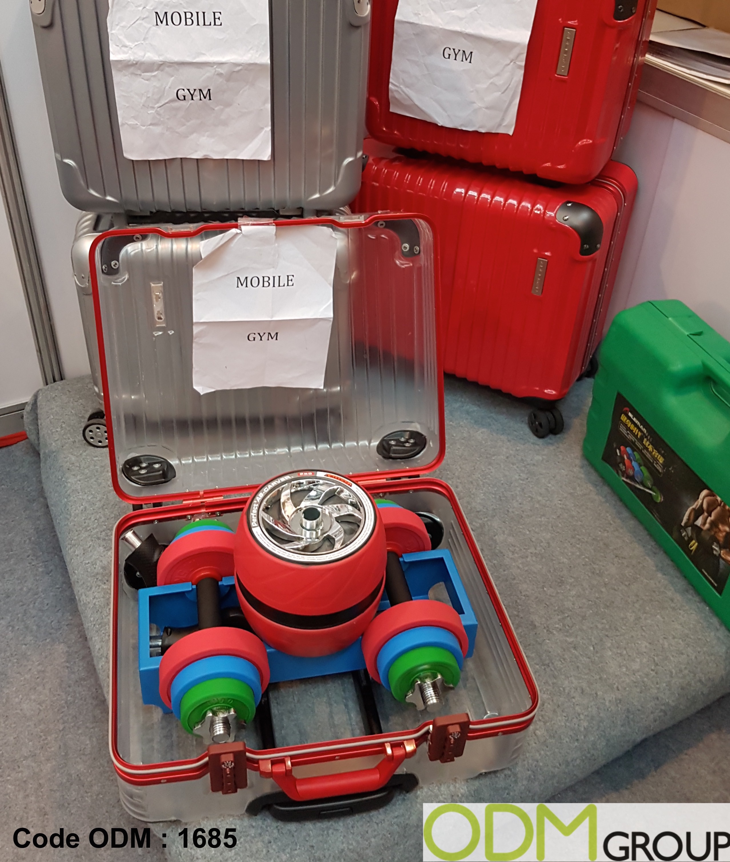 Handy Sports Promo – Mobile Gym Kit in Suitcase