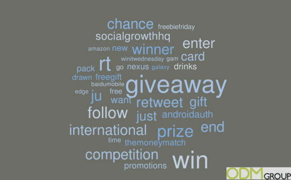 1 years worth of Giveaway Trends