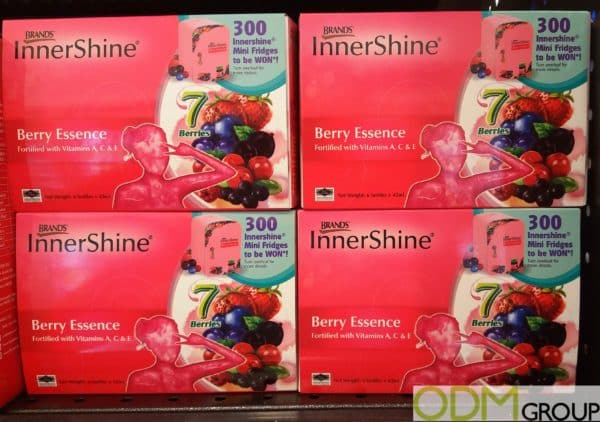 Branded On Pack Promotions by InnerShine Vitamins