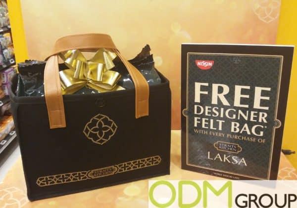 Custom Cardboard POS Display for GWP Campaign by Laska