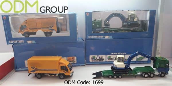 Branded Miniature Trucks to promote in Logistic Industry