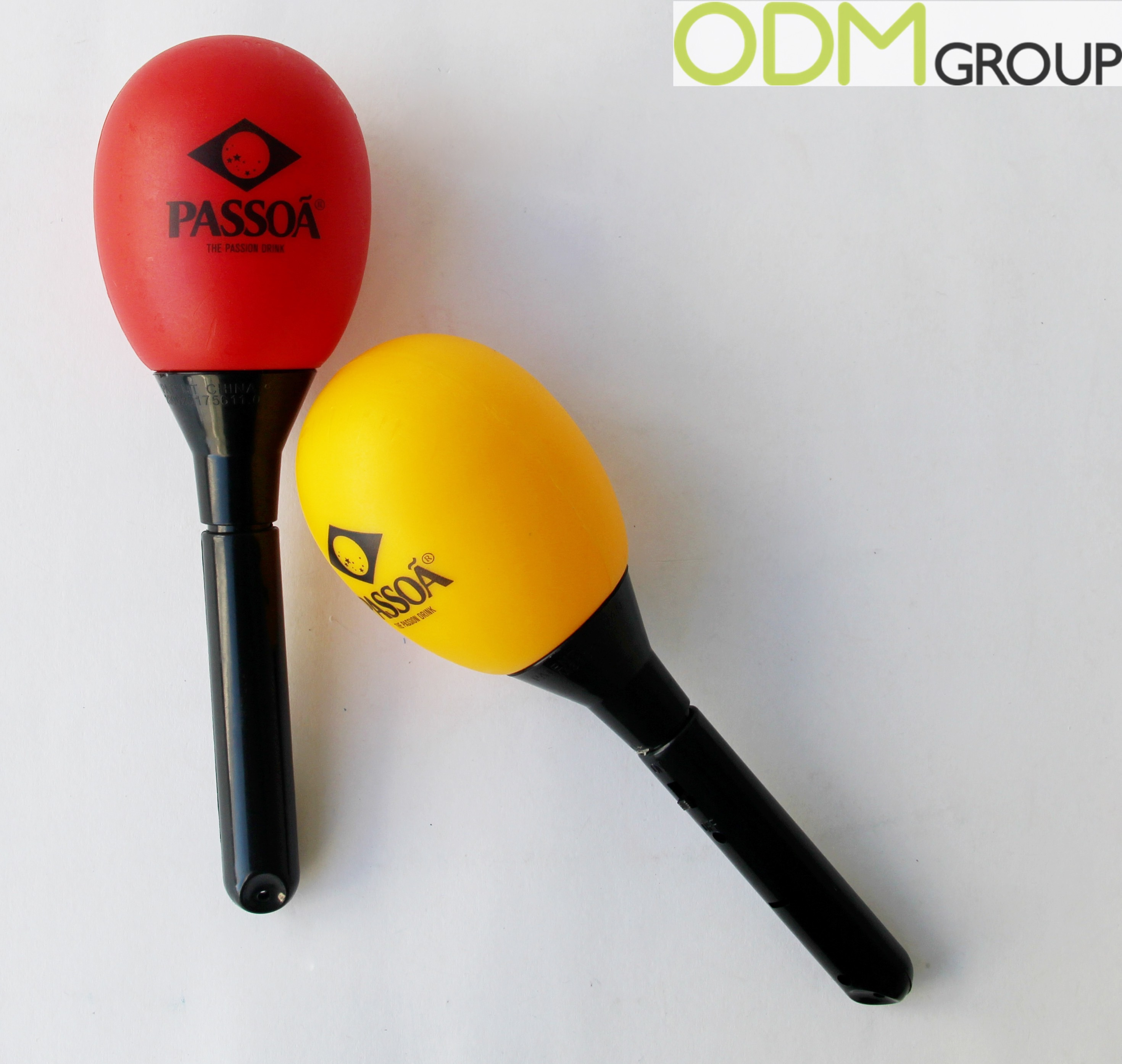 Promotional Idea for Party - Custom LED maracas by Passoa