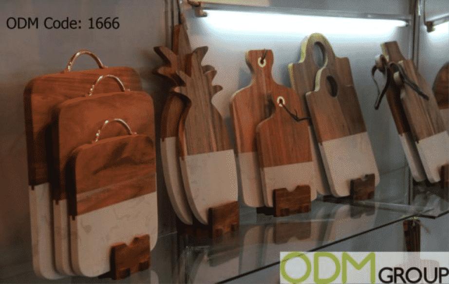 Kitchen Promo Idea - Custom Shaped Chopping Boards