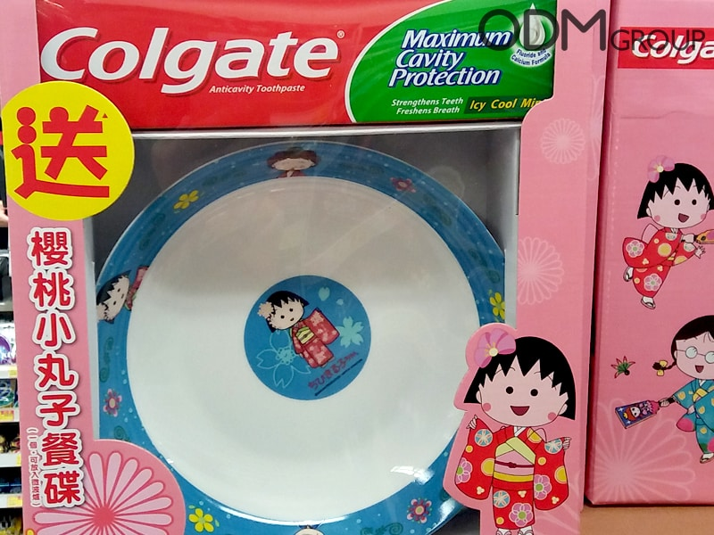 Promotional Bowl – Gift with Purchase from Colgate