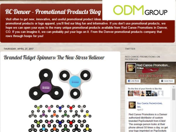 Latest Buzz on Promotional Product Blogs 8