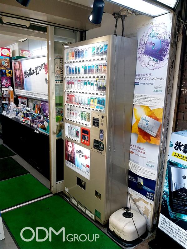 Advertisement LED Display by Marlboro in Tokyo