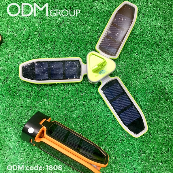 Branded Foldable Solar Torch