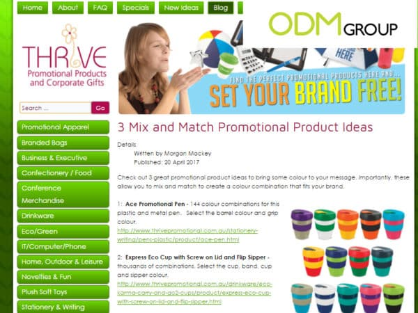 Latest Buzz on Promotional Product Blogs 16