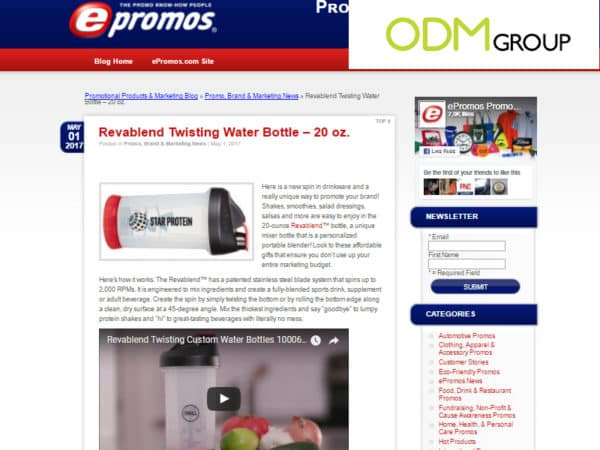 Latest Buzz on Promotional Product Blogs 15