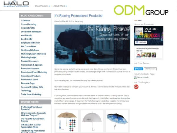 Latest Buzz on Promotional Product Blogs 5