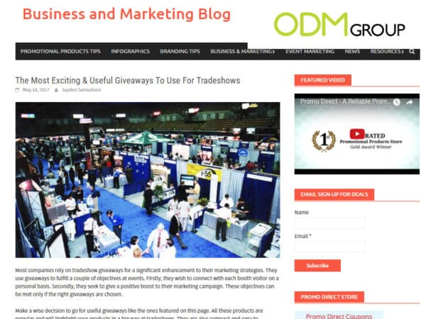Latest Buzz on Promotional Product Blogs 11