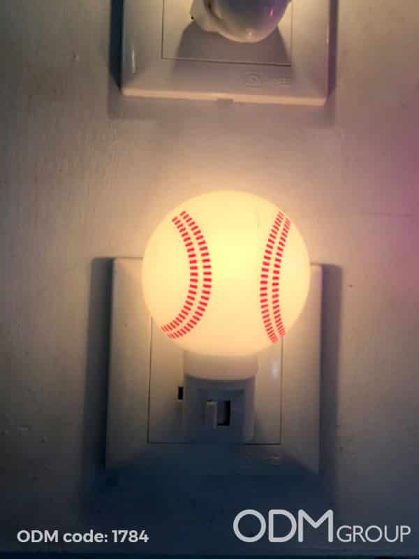 Custom Shape LED Night Lights for Creative Marketing