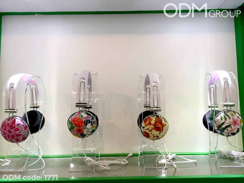 Full Colour Custom Printed Headphones - Promotional gift idea