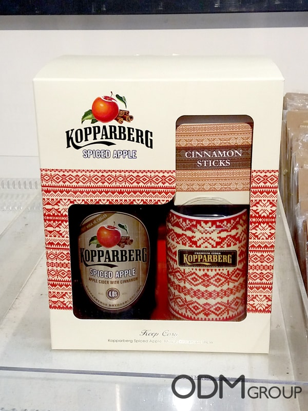 Kopparberg Gift Set - Custom Mug and Cinnamon Sticks