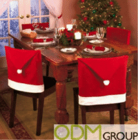 Santa Chair Covers for Christmas Promo